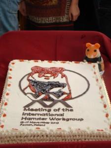 Surprise faite par les organisateurs: un gâteau spécial Grand Hamster